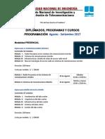 Programacion Agosto Setiembre Inictel-uni