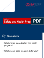 07 Safety Health Programs