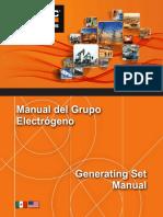 Gpo Electrogeno Manual Generating Set Manual 2k15