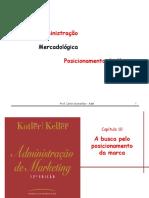 0105179 ADM Mercadologica Posicionamento de Marca