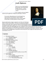 Philosophy of Baruch Spinoza - Wikipedia