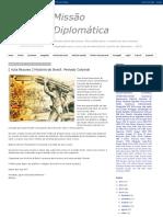 Estudos para o CACD - Missão Diplomática
