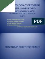 LesionesIntraarticularesyLigamentosasdelaRodillaI