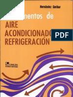 FUNDAMENTOS DE AIRE ACONDICIONADO Y REFRIGARACION.pdf