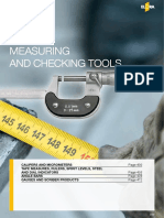 Measuring Checking Tools