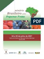 Seminario Brasileiro Sobre Frutas Pequeñas