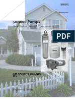 Goulds Pumps Used in Rainwater Harvesting System