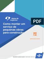 Serviço de Pequenas Obras Para Construção Civil