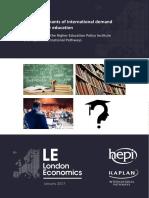 The Determinants of International Demand for UK HE FULL REPORT