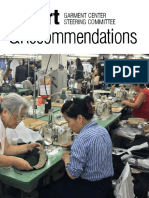 Report on the Garment Center