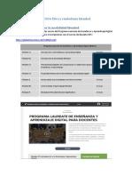 Fase 1 - Conocer La Modalidad Blended y Las Herramientas Del Aula Virtual Blackboard