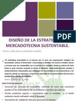 DISEÑO DE LA ESTRATEGIA DE MERCADOTECNIA SUSTENTABLE