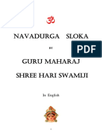 Nava Durga Slokam, Meanings and Pooja Instructions (English)