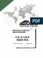 Manuale Mercruiser 43 MPI