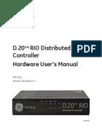 994-0141-D20RIO-HW-User-Manual-V100-R3.1.1