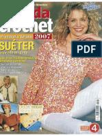 103.Crochet Sueters Twinset Musculosa,Top-niña Sombrero Toalla