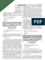 Aprueban la propuesta que establece la Actualización del Plan de Desarrollo Urbano de la ciudad de Huaral 2016 - 2025