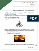 SSIAP 3 - Propagation Du Feu