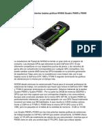 Quadro P6000 y P5000 Review