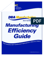 Manufacturing Efficiency Guide