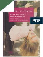 Karen Joy Fowler - Ne-Am Iesit Cu Totii Complet Din Minti