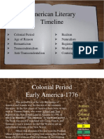 literary time periods powerpoint