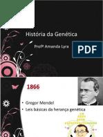 Histórico da genética