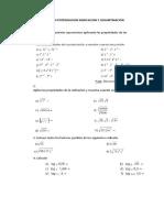 Aplicación Potenciacion Radicacion y Logaritmacion 1