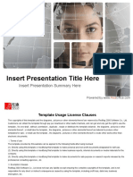 Business Presentation Format