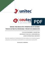 Manual RedacciónYPresentaciónDeInformes PPyPG
