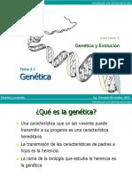 3.1 Genética