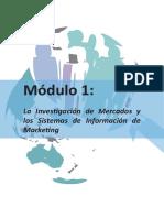 Investigación de Mercados Módulo I