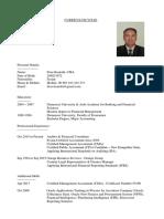 Firas Kourabi's CV