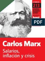 Salarios Inflacion y Crisis - Carlos Marx