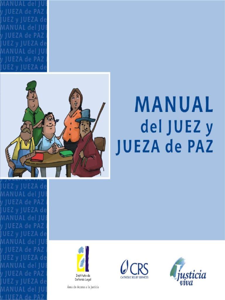 Manual del juez de paz, celestino mas y abad 18 comprar libros.