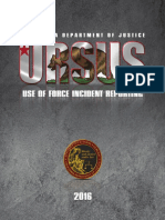 California DOJ URSUS 2016 Report