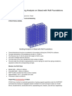 Seminar on Building Analysis on Staad with Raft Foundations.pdf