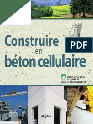 Construire En Béton Cellulairepdf Chaux Matériau Composite