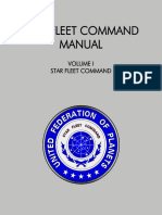 Star Fleet Command Manual - Volume I