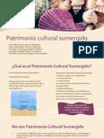 Patrimonio Cultural Sumergido
