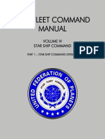 Star Fleet Command Manual - Volume IV Part 1