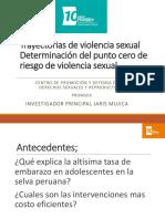 Trayectorias de Violencia Sexual