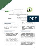 Práctica_Reducción de Tamaño, Tamizado e Hidrociclón