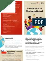 Todo Niño Nacido en Chile Tiene Derecho a La Nacionalidad