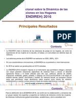 Encuesta Nacional sobre la Dinámica de las Relaciones en los Hogares  2016