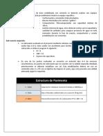 Estructura de Pavimento