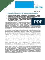 Nota de Prensa Nº 162-2017 - ALA COLCA-SIGUAS CHIVAY