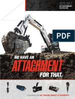 Bobcat 1875 Attachment Catalog