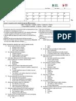 Examen Bimestral Tutoria Secundaria