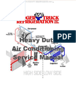 Manual Heavy Duty Trucks Air Conditioning System Safety Operation Refrigerant Components Service Diagnosis Diagrams